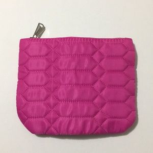 Aimee Kestenberg Hot Pink Lana Quilted Pouch